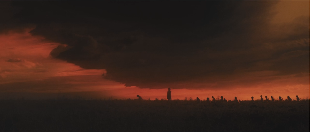 Pénitents sur l'horizon